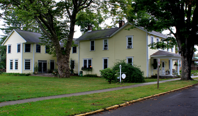 The Parker House Is Located In Confluence, PA.
